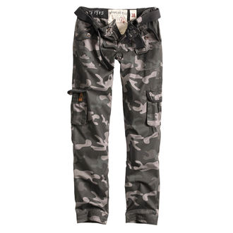 Damen Hose SURPLUS - PREMIUM SLIMMY - SCHWARZ CAMO, SURPLUS