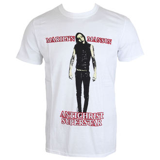 Herren T-Shirt Metal Marilyn Manson - Antichrist - ROCK OFF, ROCK OFF, Marilyn Manson