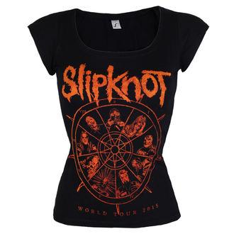 Damen T-Shirt Metal Slipknot - The wheel - ROCK OFF, ROCK OFF, Slipknot
