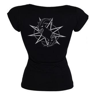Damen T-Shirt Metal Slipknot - Goat Star Logo - ROCK OFF, ROCK OFF, Slipknot