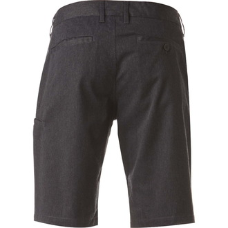 Kurze Herren Hose FOX - Essex Pinstripe - Charcoal, FOX