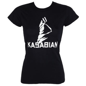 Damen T-Shirt Metal Kasabian - Ultra Skinny - ROCK OFF, ROCK OFF, Kasabian
