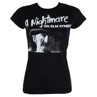 Damen T-Shirt Film A Nightmare Elm Street - Black - HYBRIS, HYBRIS, Nightmare - Mörderische Träume