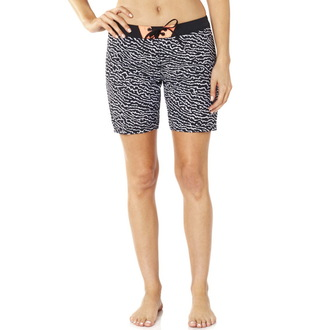 Damen Badeanzüge (kurze Hose) FOX - Chargin - Schwarz / Weiß, FOX
