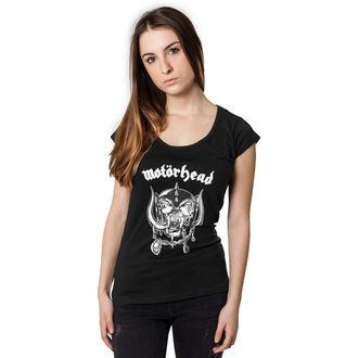 Damen T-Shirt Metal Motörhead - Logo Cutted Back -, NNM, Motörhead