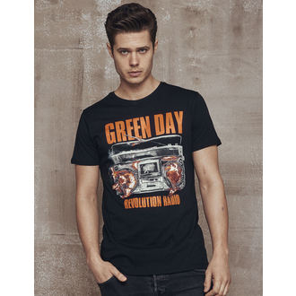 Herren T-Shirt Metal Green Day - Radio -, NNM, Green Day