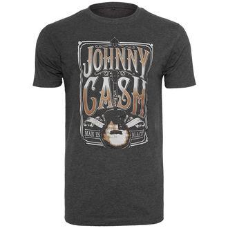 Herren T-Shirt Metal Johnny Cash - Man In Black -, NNM, Johnny Cash