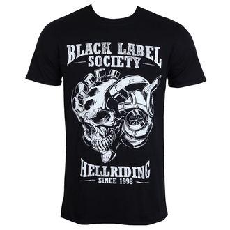 Herren T-Shirt Metal Black Label Society - HELL RIDING - PLASTIC HEAD, PLASTIC HEAD, Black Label Society