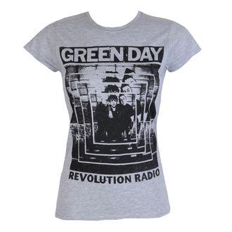 Damen T-Shirt Metal Green Day - POWER SHOT - PLASTIC HEAD, PLASTIC HEAD, Green Day