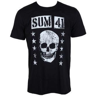 Herren T-Shirt Metal Sum 41 - GRINNING SKULL - PLASTIC HEAD, PLASTIC HEAD, Sum 41