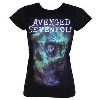 Damen T-Shirt Metal Avenged Sevenfold - SPACE FACE - PLASTIC HEAD, PLASTIC HEAD, Avenged Sevenfold