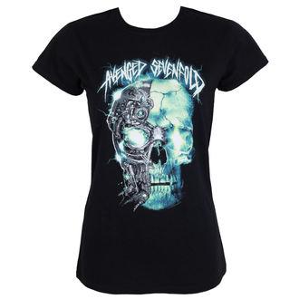 Damen T-Shirt Metal Avenged Sevenfold - TURBO SKULL - PLASTIC HEAD, PLASTIC HEAD, Avenged Sevenfold