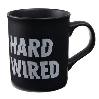 Tasse Metallica - M Hardwired Matte - Schwarz, NNM, Metallica