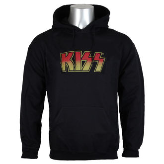 Herren Hoodie Kiss - Distressed Logotype Big & Tall - HYBRIS, HYBRIS, Kiss
