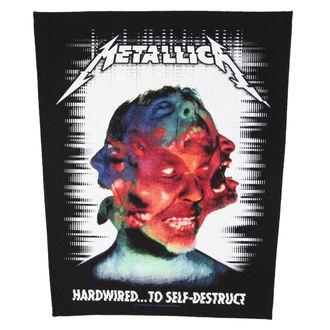 Aufnäher METALLICA - HARDWIRED TO SELF DESTRUCT - RAZAMATAZ, RAZAMATAZ, Metallica