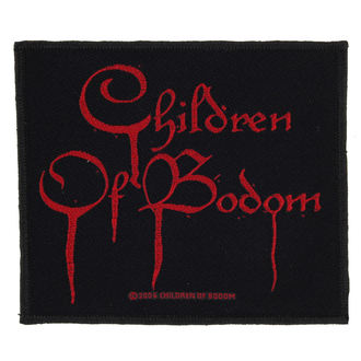 Aufnäher CHILDREN OF BODOM - BLOOD LOGO - RAZAMATAZ, RAZAMATAZ, Children of Bodom