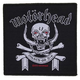 Aufnäher Motörhead - March ör Die - RAZAMATAZ, RAZAMATAZ, Motörhead