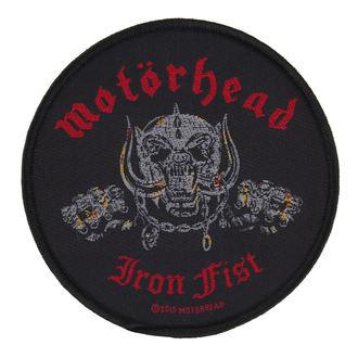 Aufnäher Motörhead - IRON FIST/SKULL - RAZAMATAZ, RAZAMATAZ, Motörhead