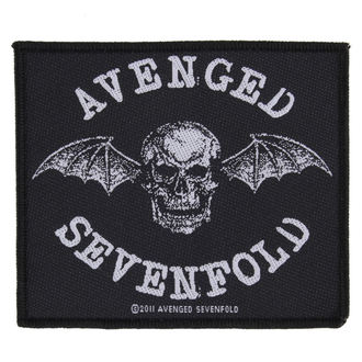 Aufnäher AVENGED SEVENFOLD - DEATH BAT - RAZAMATAZ, RAZAMATAZ, Avenged Sevenfold