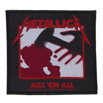 Aufnäher Metallica - Kill 'Em All - RAZAMATAZ - SP2723