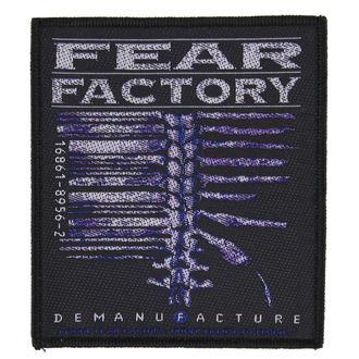 Aufnäher FEAR FACTORY - DEMANUFACTURE - RAZAMATAZ, RAZAMATAZ, Fear Factory