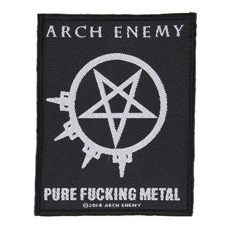 Aufnäher ARCH ENEMY - PURE FUCKING METAL - RAZAMATAZ, RAZAMATAZ, Arch Enemy