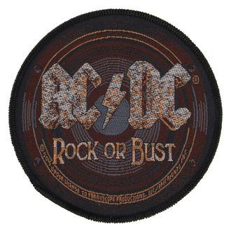 Aufnäher AC / DC - ROCK OR BUST - RAZAMATAZ, RAZAMATAZ, AC-DC