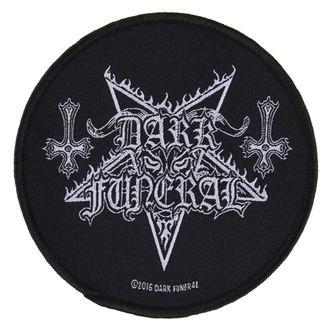 Aufnäher DARK FUNERAL - CIRCULAR LOGO - RAZAMATAZ, RAZAMATAZ, Dark Funeral