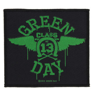 nášivka GREEN DAY - NEON WINGS - RAZAMATAZ, RAZAMATAZ, Green Day
