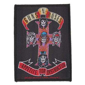 Aufnäher Guns N' Roses - APPETITE - RAZAMATAZ, RAZAMATAZ, Guns N' Roses