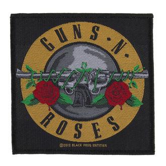 Aufnäher Guns N' Roses - BULLET LOGO - RAZAMATAZ, RAZAMATAZ, Guns N' Roses