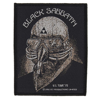 Aufnäher BLACK SABBATH - US TOUR 78 - RAZAMATAZ, RAZAMATAZ, Black Sabbath