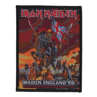 Aufnäher IRON MAIDEN - MAIDEN ENGLAND - RAZAMATAZ, RAZAMATAZ, Iron Maiden