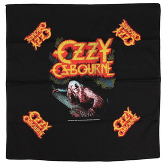 Kopftuch OZZY OSBOURNE - BARK AT THE MOON - RAZAMATAZ, RAZAMATAZ, Ozzy Osbourne