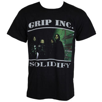 Herren T-Shirt Metal GRIP INC. - Solidify - MASSACRE RECORDS, MASSACRE RECORDS, Grip Inc.