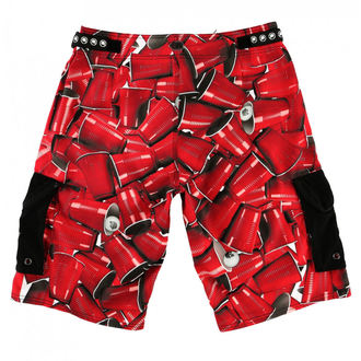 Herren Badeshorts METAL MULISHA - CUPS, METAL MULISHA
