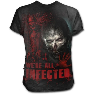 Herren T-Shirt Film The Walking Dead - ZOMBIE - SPIRAL, SPIRAL, The Walking Dead