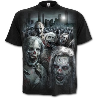 Herren T-Shirt Film The Walking Dead - ZOMBIE HORDE - SPIRAL, SPIRAL, The Walking Dead