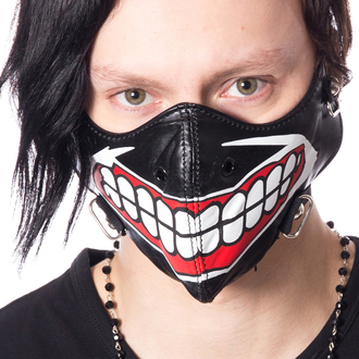Maske POIZEN INDUSTRUES - MUSCLE - SCHWARZ, POIZEN INDUSTRIES