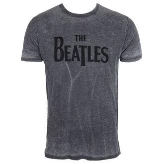 Herren Metal T-Shirt Beatles - Drop Burnout - ROCK OFF, ROCK OFF, Beatles
