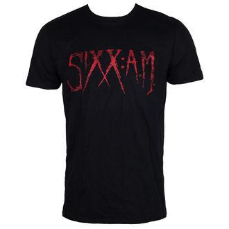 Herren T-Shirt Metal Sixx A.M - Black - ROCK OFF, ROCK OFF, Sixx A.M