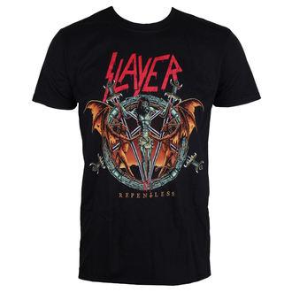 Herren T-Shirt Metal Slayer - Demon Christ Repentless - ROCK OFF, ROCK OFF, Slayer