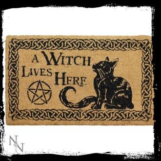 Fußmatte A Witch Lives Here - B2743G6