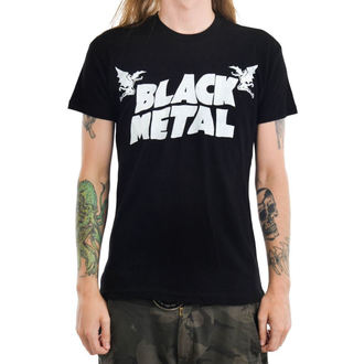 Gothic and Punk Herren T-Shirt - BLACK METAL - TOO FAST, TOO FAST