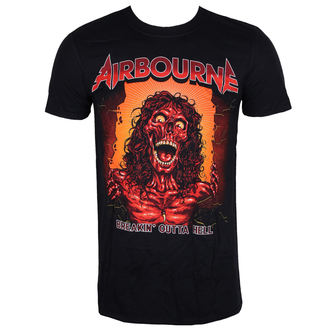 Herren Metal T-Shirt Airbourne - BOH SKELETON T - LIVE NATION, NNM, Airbourne