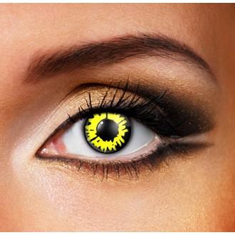 Kontaktlinsen YELLOW WEREWOLF - EDIT, EDIT