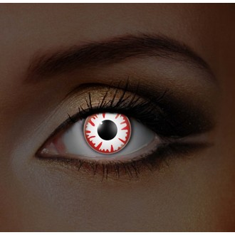 Kontaktlinsen I-GLOW- WHITE DEMON UV - EDIT, EDIT