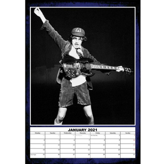 Kalender für das Jahr 2021 - AC/DC, NNM, AC-DC