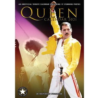 Kalender für das Jahr 2021 - Queen, NNM, Queen