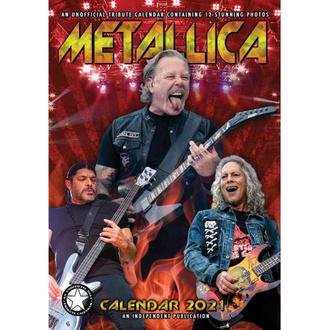 Kalender für das Jahr 2021 - Metallica, NNM, Metallica